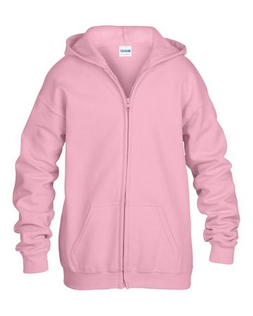 Gildan: Kids` Full Zip Hooded Sweat 18600B – Bild 8
