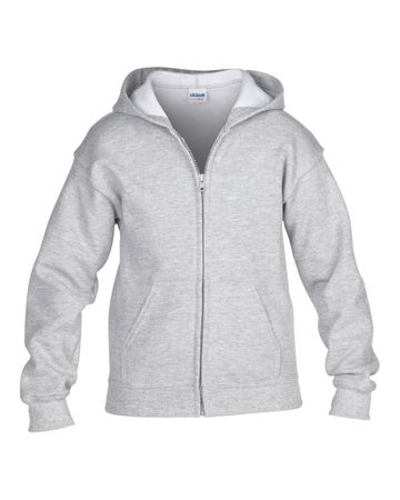 Gildan: Kids` Full Zip Hooded Sweat 18600B – Bild 9