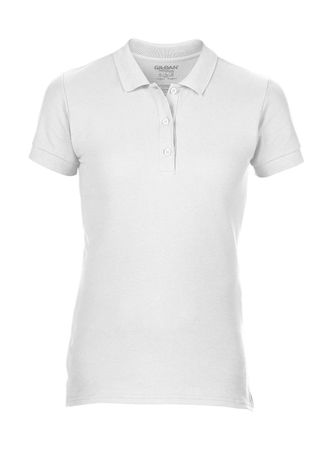 Gildan: Premium Cotton Ladies` Double Piqué Polo 85800L – Bild 2