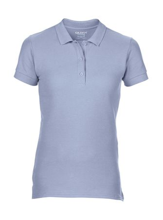 Gildan: Premium Cotton Ladies` Double Piqué Polo 85800L – Bild 7