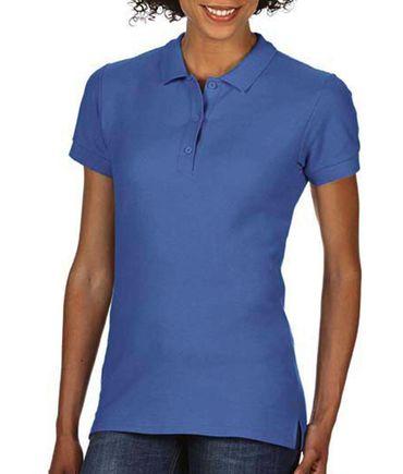 Gildan: Premium Cotton Ladies` Double Piqué Polo 85800L – Bild 19