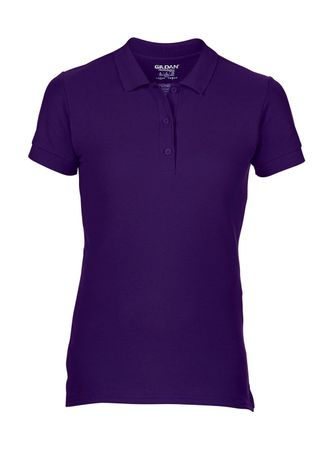 Gildan: Premium Cotton Ladies` Double Piqué Polo 85800L – Bild 9