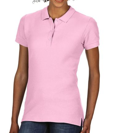 Gildan: Premium Cotton Ladies` Double Piqué Polo 85800L – Bild 16