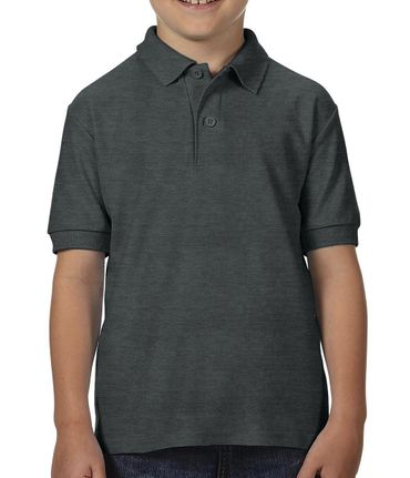 Gildan: DryBlend Youth Double Piqué Polo 72800B – Bild 5