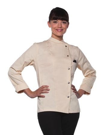 Karlowsky: Ladies Chef Jacket Larissa JF 3 – Bild 3