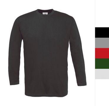 B&C: Langarm T-Shirt Exact 150 LSL TU003 – Bild 1
