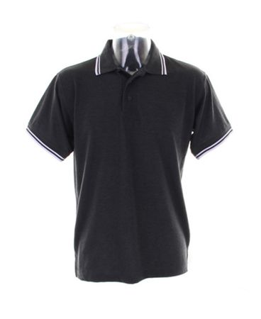 Kustom Kit: Tipped Collar Poloshirt KK409 – Bild 6