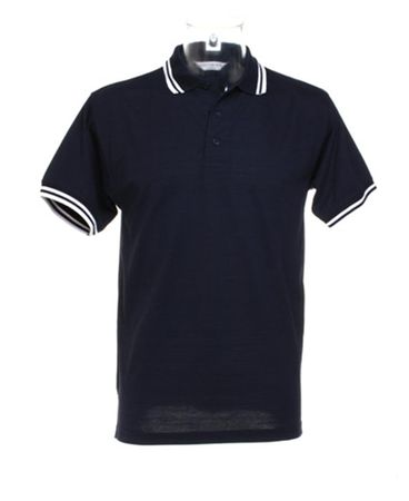Kustom Kit: Tipped Collar Poloshirt KK409 – Bild 8