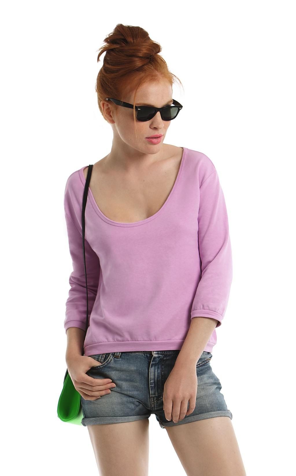 B&C: Ladies` Summer Sweatshirt Rising Sun Women WWS41