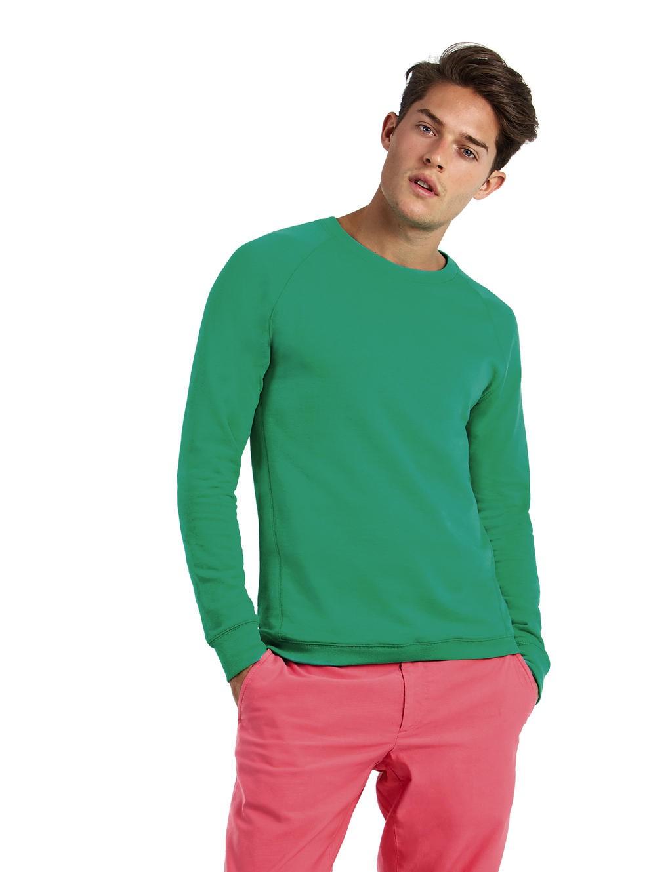 B&C: Summer Raglan Sweatshirt Reef Men WMS40